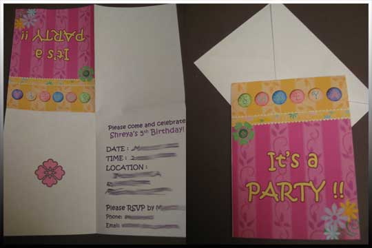 Smiling Snaps - Birthday Parties - Evites or Invites?