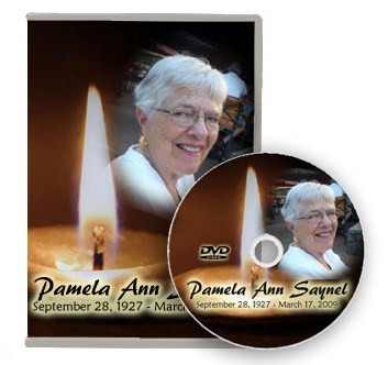 Memorial Slideshow Photo DVD