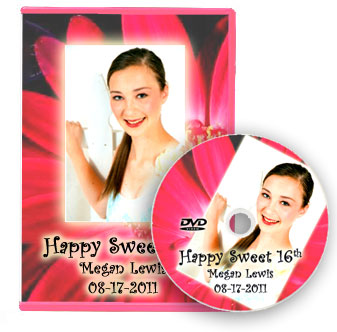 Sweet 16 Slideshow DVD